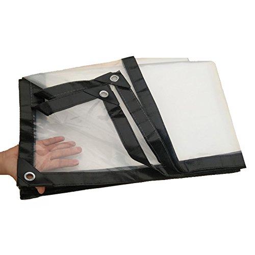 Transparente Plane-Heavy Duty Tarp-Ösen-Boden-Blatt-Abdeckungs-Schutz-Zelt im Freien, multi Größen, 100G / M² (größe : 2 m X4 m) - X4-zelt