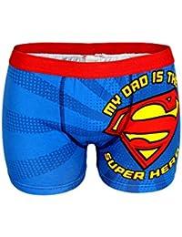 Hommes officiels Superman Printed Boxer Taille S, M, L, XL