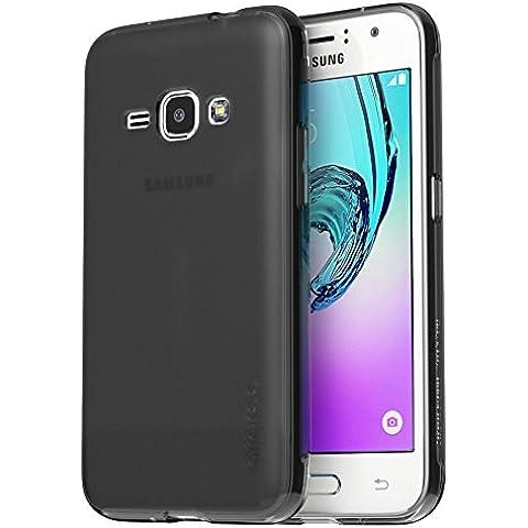 Samsung Galaxy J32016, J320Case, araree® [J Cover] Ultra Slim Delgado esmerilado Soft TPU Cover (5pulgadas) negro Frosted Black