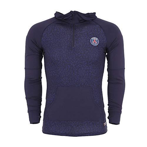 1745d73bba997a Veste Capuche Logo PSG - Licence Officielle - Bleu. Taille EU - M