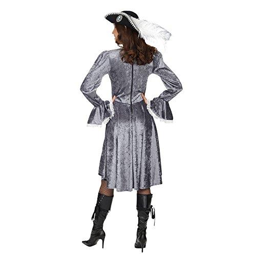 Déguisement Pirate - Robe A Manches Longues & Laçage - Costume Femme Bronze
