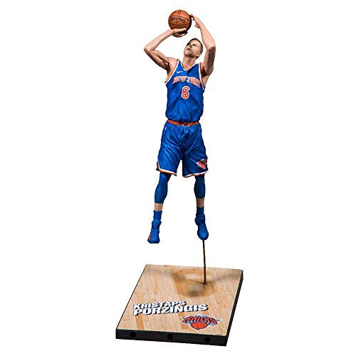 a6a3b437f6f2 McFarlane NBA 2K19 Series 1 Kristaps Porzingis York Knicks