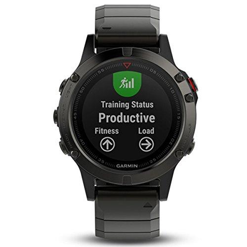 Garmin Fenix 5 Sapphire GPS Multisport Smartwatch 010-01688-21
