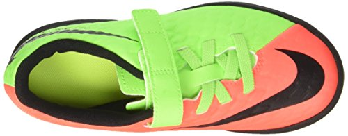 Nike Hypervenom X Phd 3 (V) Tf, Chaussures de Football Garçon Vert (Electric Green/black/hyper Orange/volt)