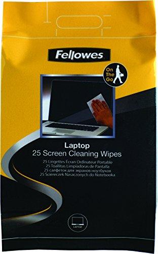 Fellowes 99674-25 toallitas húmedas de Limpieza para la Pantalla del Ordenador portátil