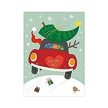 Susy Card 40023465 Carte de vœux de Noël Mini voiture Motif voiture