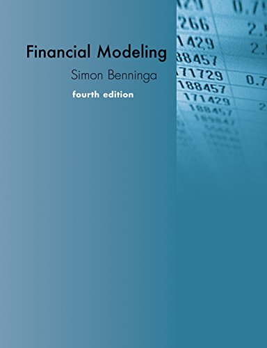 Financial Modeling (MIT Press)