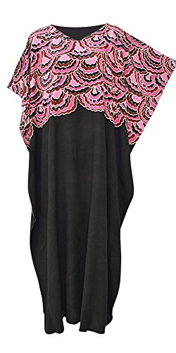 mermaid-amazing-soft-kaftan-caftan-cool-long-maxi-ladies-beach-coverup-dress-s-m-fit-8-to-18-pink-ab