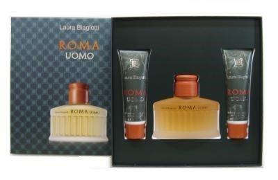 laura-biagiotti-roma-uomo-set-2-x-50ml-duschgel-75ml-eau-de-toilette-misc