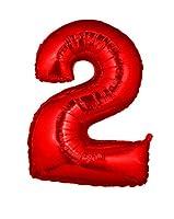 Esclusivo palloncino in mylar a forma di numero di colore rosso metallizzato. Disponibile con tutti i numeri da 0 a 9. Ideale sia da appendere che come addobbo da terra, per decorare in maniera originale e chic le tue feste di compleanno, ann...