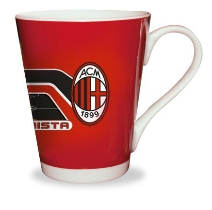 Tasse Kaffeetasse/Tee-Offizielle Kollektion-AC Mailand-Italien-Fußball Calcio -