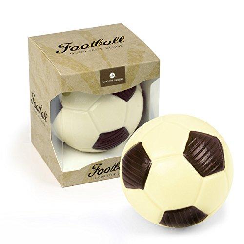 ChocoBall Fußball aus Schokolade | Schoko Fußball | Geschenk für Fußball-Fans | Geburtstagsgeschenk | Vatertag | Kinder | Erwachsene | Mann | Frau | lustige Geschenkidee | Sport Fan | Geschenke für Sportler