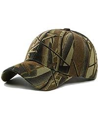 BIRAN Cappellino Mimetico Militare da Uomo Cappellino da Militare Baseball  Unico Cappellino da Arrampicata Gap Caccia Pesca da Caccia al… 4605118575ff