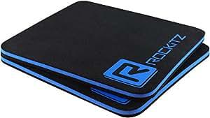 ROCKITZ Premium Fitness Grip Pads - maximaler Halt & Polsterung - vergesst Fitnesshandschuhe & Handschuhe für Training