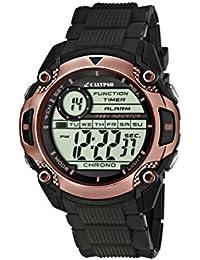 Calypso  watches K5577/7 - Reloj de pulsera hombre, plástico, color negro