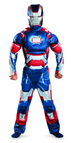 Patriot Kostüm - Iron Man 3 Patriot Kinder Jungen Halloween Fasching Karneval Kostüm Large 140-152