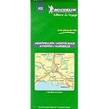 Carte routière : Avignon - Marseille - Montpellier, N° 113