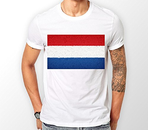 Netherlands Flag-t-shirt (Netherlands Flag T-shirt (Small))