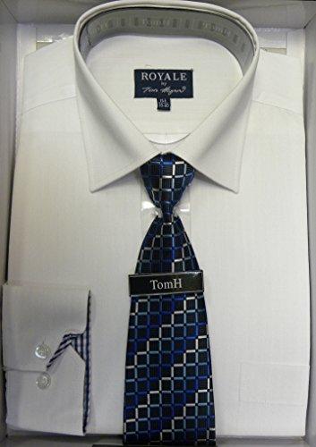 Chemise pour jeu de direction Uni Chemis'à manches longues pour femme Motif Tie Chemise bureau Blanc - Blanc