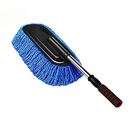 FOLCONROAD-manico-allungabile-auto-Duster-pennello-piatto-in-microfibra-mop-Duster-auto-pulizia-lavaggio-strumenti
