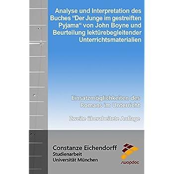 Pdf Download Analyse Und Interpretation Des Buches Der Junge Im