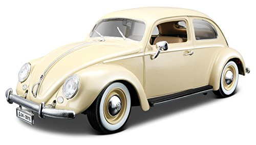 bburago-18-12029-gold-vw-kafer-beetle-1955-modellino-in-scala-118-colori-assortiti