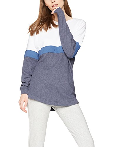 Iris & Lilly Sweatshirt Damen, Weiß, Small