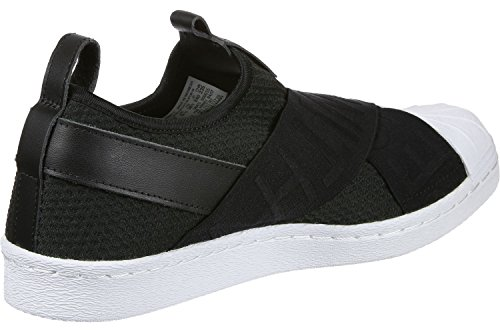 adidas Superstar Slipon W, Scarpe da Ginnastica Donna Nero (Core Black/Core Black/Ftwr White)