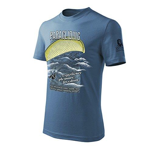 T-Shirt mit Gleitschirmfliegen Paragliding (L)