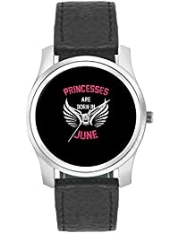 BigOwl Princesses Are Born In June | Birthday Gifts For Girls Fashion Watches For Girls - Awesome Gift For Daughter...