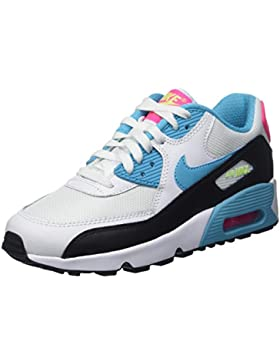 Nike Unisex-Kinder Air Max 90 Mesh (Gs) Low-Top