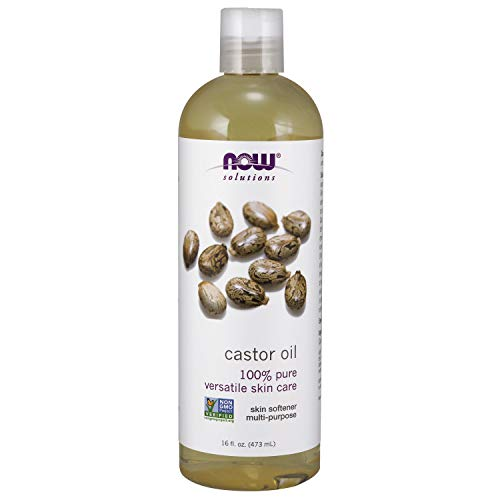 Now Foods Castor Oil, 100% Pure - 473 Ml. - 473 ml