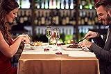 Ailiebhaus 50 Teelicht Set romantische Liebe Herz Form Pudding Rauchfreie Duft Kerzen Schwimmkerzen Rot - 5
