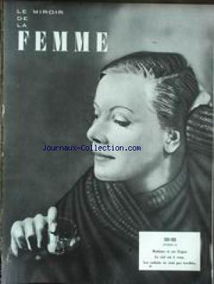 MIROIR DE LA FEMME (LE) [No 23] - 1920 - 1939 - MADAME ET SES EXPOS - LE CIEL EST A VOUS - LES ENFANTS NE SONT PAS