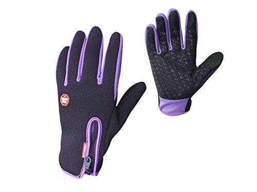 Plsonk Haushalt Outdoor Winddicht Arbeitshandschuhe Radfahren Jagd Klettern Sport Touchscreen Handschuhe für Männer Frauen (S) für die Arbeit -