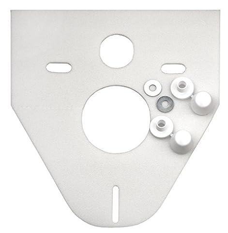 Cornat SSWWC Schallschutz-Set für Wand-WC und