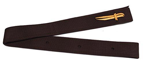 5,1x 182,9cm Nylon Latigo Cinch Gurt Löcher Nylon Tie Strap -