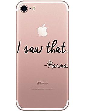 Funda iPhone 7, Teryei® TPU Silicona Funda Protección Premium Transparente Caso cover para iPhone 7 4.7 pulgadas...