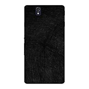 Neo World Rugged Black Back Case Cover for Sony Xperia Z