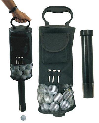 Longridge Shag Bag Deluxe Sac ramasseur de balles Noir