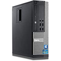 Dell OptiPlex Intel i5-2400 Quad Core i5 8GB RAM 240GB SSD + 500GB HDD WiFi Windows 10 Desktop PC Computer (Renewed)
