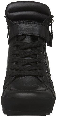 Kennel Und Schmenger Schuhmanufaktur Soho, Baskets hautes femme Noir - Schwarz (schwarz Sohle schwarz 510)