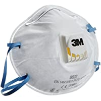 3M 8822 Disposable-fine dust mask FFP2 (10-pack)