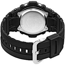 Casio Homme Analogique-Digital Energie Solaire Montre avec Bracelet en Plastique GAW-100B-1AER