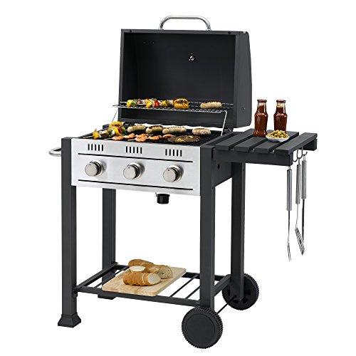 Griglia da barbecue a gas, modello Toronto, compatibile con sistema...