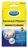 Scholl Hornhaut-Pflaster zur Entfernung von Hornhaut an den Füßen, 4 Pflaster