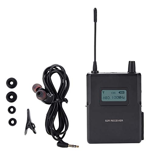 Garsent In-Ear Monitoring-System, 526-535Mhz Clear Sound Wireless Bühnenmonitor Empfänger