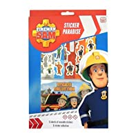 Anker Fireman Sam Paradise Sticker, Plastic, Multi-Colour