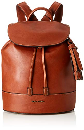 Marc O'Polo Damen Romy Umhängetasche, Braun (Authentic Cognac), 13x40x33 cm