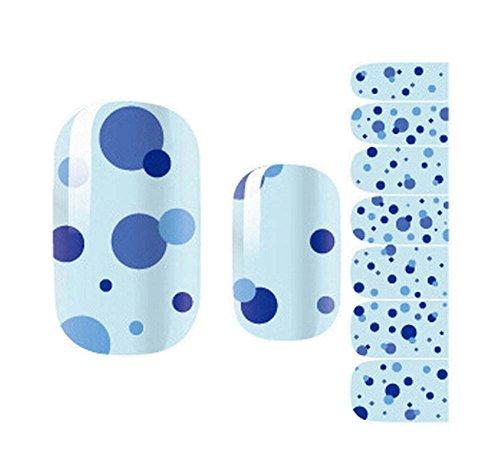 [Dot] Jeu de 5 Nail Stickers Nail Sticker Nail Art Bricolage